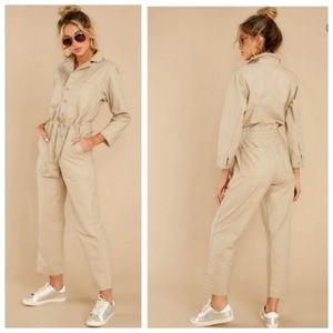 Levi's utility jumpsuit coverall NWT
